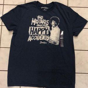 84ff0722f Bob Ross Men's Blue T-shirt NWT size XL